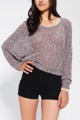 Sparkle and Fade Extreme Dolman Cropped Sweater at Urban Outfitters