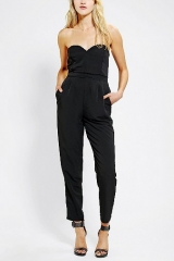 Sparkle and Fade Sweetheart Jumpsuit at Urban Outfitters