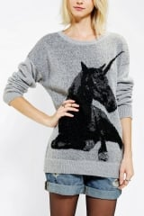 Sparkle and Fade Unicorn Sweater at Urban Outfitters