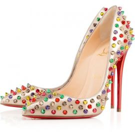 Specchio Follies Spikes Pumps by Christian Louboutin at Christian Louboutin