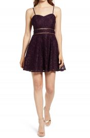 Speechless Lace Fit  amp  Flare Dress   Nordstrom at Nordstrom