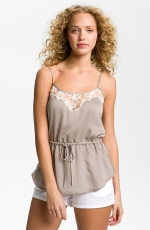 Spencers grey lace cami on PLL at Nordstrom