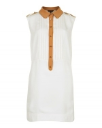 Spencers white long shirt at Ted Baker