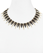 Spike necklace by Cara Accessories at Bloomingdales