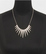 Spiked necklace from Express at Express