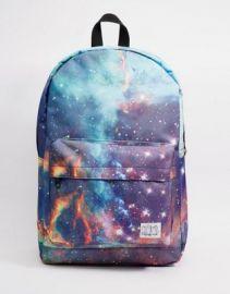 Spiral Galaxy Neptune Backpack at asos com at Asos