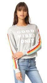 Spiritual Gangster Good Vibes Only Crop Sweatshirt at Shopbop