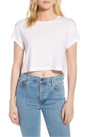 Splendid Crop Tee at Nordstrom