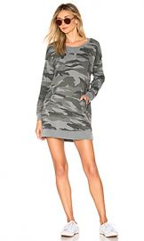Splendid Camo Courtside Dress in Vintage Olive Branch from Revolve com at Revolve