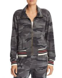 Splendid Camo Zip-Front Sweatshirt - 100  Exclusive  Women - Bloomingdale s at Bloomingdales