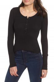 Splendid Classic Henley Thermal   Nordstrom at Nordstrom