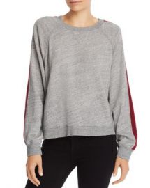 Splendid Color Block Stripe Sweatshirt Women - Bloomingdale s at Bloomingdales