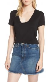 Splendid Deep U Neck Tee at Nordstrom