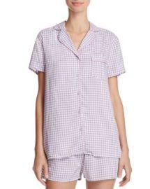 Splendid Intimates Gingham Classic Short Pajama Set at Bloomingdales