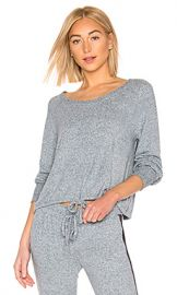 Splendid Long Sleeve PJ Top in Skyway from Revolve com at Revolve
