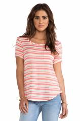 Splendid Marina Stripe Tee at Revolve