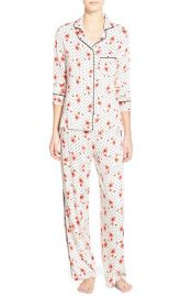 Splendid Piped Pajamas in Poppy Party at Nordstrom
