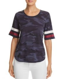 Splendid Striped-Sleeve Camo Tee - 100  Exclusive  Women - Bloomingdale s at Bloomingdales