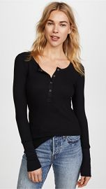 Splendid Thermal Henley at Shopbop
