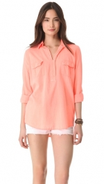 Splendid pocket blouse at Shopbop