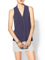 Splendid sleeveless shirting top at Piperlime