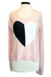 Split Heart Pullover by Sundry at Jody G