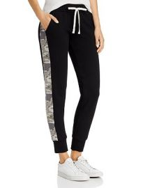 Sporty Camo-Stripe Sweatpants at Bloomingdales