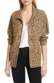 Spring Cheetah Service Jacket at Nordstrom
