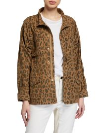 Spring Cheetah Service Jacket at Neiman Marcus