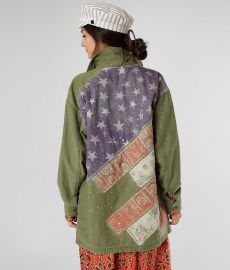 Spruce Military Shirt Jacket by Free People  at Buckle
