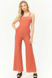 Square neck jumpsuit at Forever 21