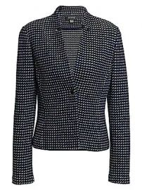 St  John - Dotted Tweed Jacket at Saks Fifth Avenue