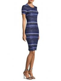 St  John - Eva Tweed Sheath Dress at Saks Fifth Avenue