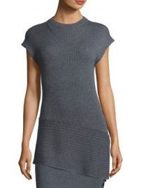 St  John - Wool Asymmetric Sweater at Saks Fifth Avenue