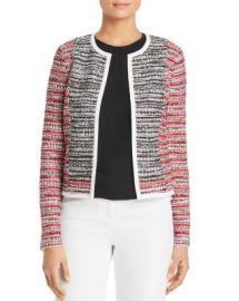 St  John Amelia Color-Block Tweed Jacket Women - Bloomingdale s at Bloomingdales