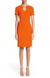 St  John Collection Ribbon Texture Knit Dress   Nordstrom at Nordstrom