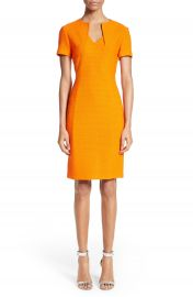 St  John Collection Ribbon Texture Knit Dress at Nordstrom
