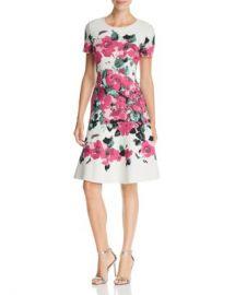St  John Vibrant Floral Jacquard Dress Women - Bloomingdale s at Bloomingdales