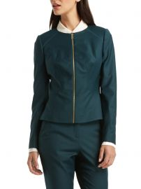 Stacia Chintz Curved Suit Jacket at Ted Baker