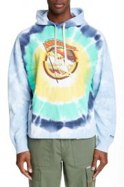 Stanley Mouse Not Fade Away Tie Dye Hoodie by Ovadia and Son at Nordstrom Rack