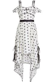 Star Print Handkerchief Dress at Stylebop