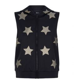 Star Print Sleeveless Hoodie by Ultracor at Harrods