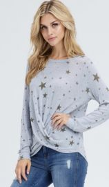 Star Print Top by Jamie and Maxi at Shoptiques