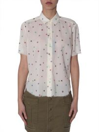Star Printed Short Sleeve Shirt at Cettire