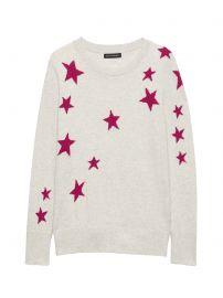 Star Sweater at Banana Republic