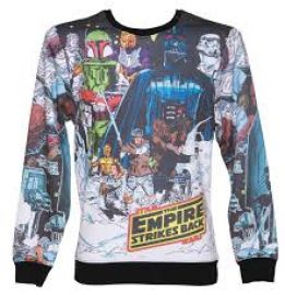 Star Wars Vintage Hoth Fleece Sublimation print Sweatshirt at Amazon