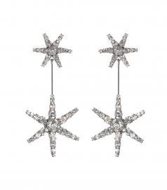 Starburst crystal earrings by Jennifer Behr at My Theresa