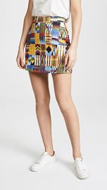 Stella Jean Patterned Miniskirt at Shopbop