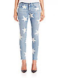 Stella McCartney - Star-Print Skinny Jeans at Saks Fifth Avenue