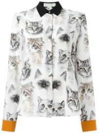 Stella McCartney  Wilson  Cat Print Shirt - Farfetch at Farfetch